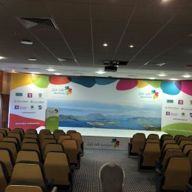 Talk Tourism Exhibition Setup